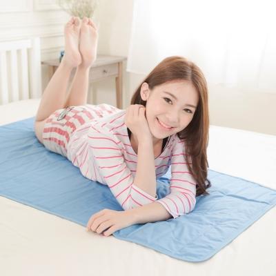 米夢家居-嚴選長效型降6度冰砂冰涼墊(50*150CM)單人床墊-1入