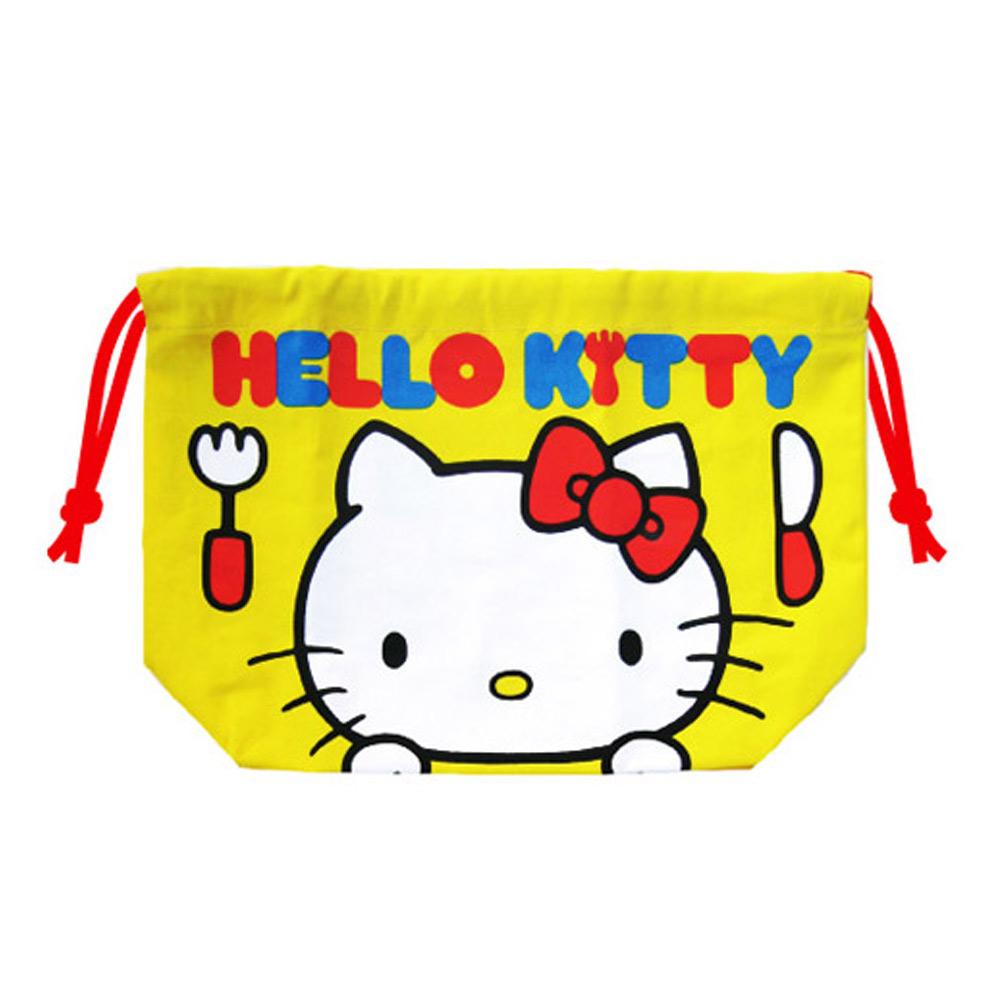 《Sanrio》HELLO KITTY縮口袋(午餐)