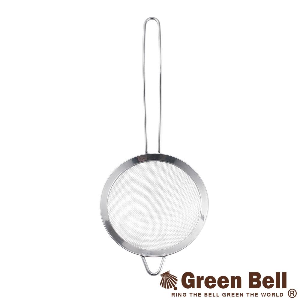 0629GREEN BELL綠貝Silvery304不鏽鋼濾網-小(14cm)