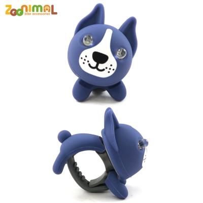 【ZOONIMAL】STORY 動物自行車燈用LED白光前燈-Buda布達狗/藍狗