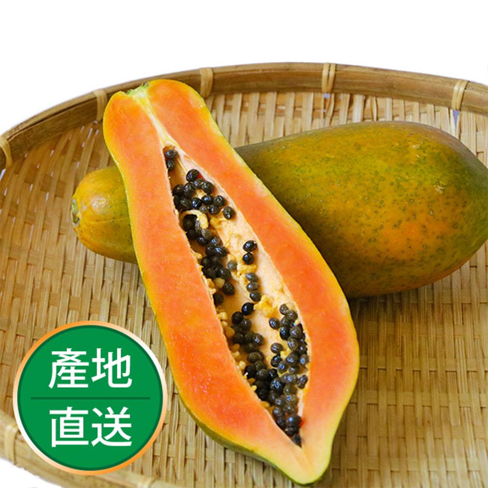 【果物配】銷魂木瓜.有機轉型期(溫室栽種/3公斤裝)