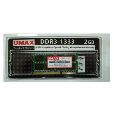 UMAX DDR3-1333 2GB  筆記型記憶體