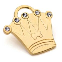澳洲品牌Hamish McBeth - BlingBling水晶吊牌、金色皇冠