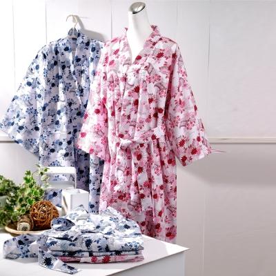 浴袍 日式和風睡浴袍 1入 伊豆