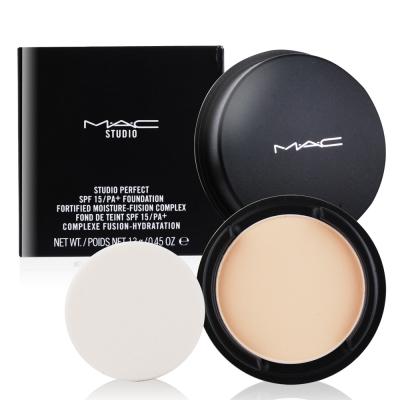 M.A.C 完美潤澤粉餅 保濕升級版SPF15 13g贈精華液試用包(隨機X1