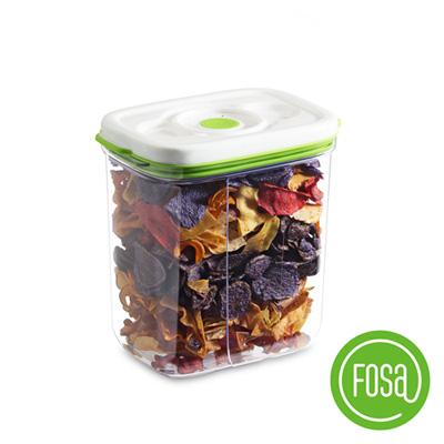 【加價購】FOSA真鮮寶方形智能真空保鮮盒3450ml(1入)