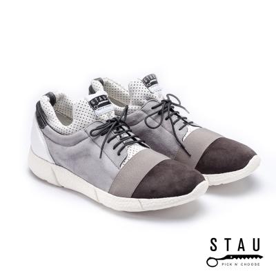 STAU|新●禪品 街頭時尚休閒鞋-灰色