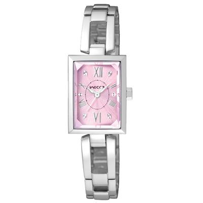CITIZEN WICCA 傾訴愛戀氣質時尚腕錶(BE1-01)-粉紫/18mm