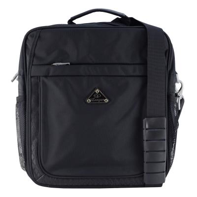 Longer-休閒格紋平板包M5100(黑)