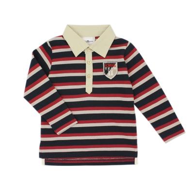 愛的世界-pappa-ciccia-純棉橫條紋長袖