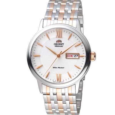 ORIENT東方錶Classic Design系列簡約腕錶(SAA05001W)