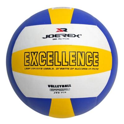 日本品牌【JOEREX】5號PVC仿皮紋三色層壓排球JVO701