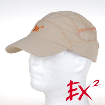 德國EX2 排汗快乾棒球帽(卡其)
