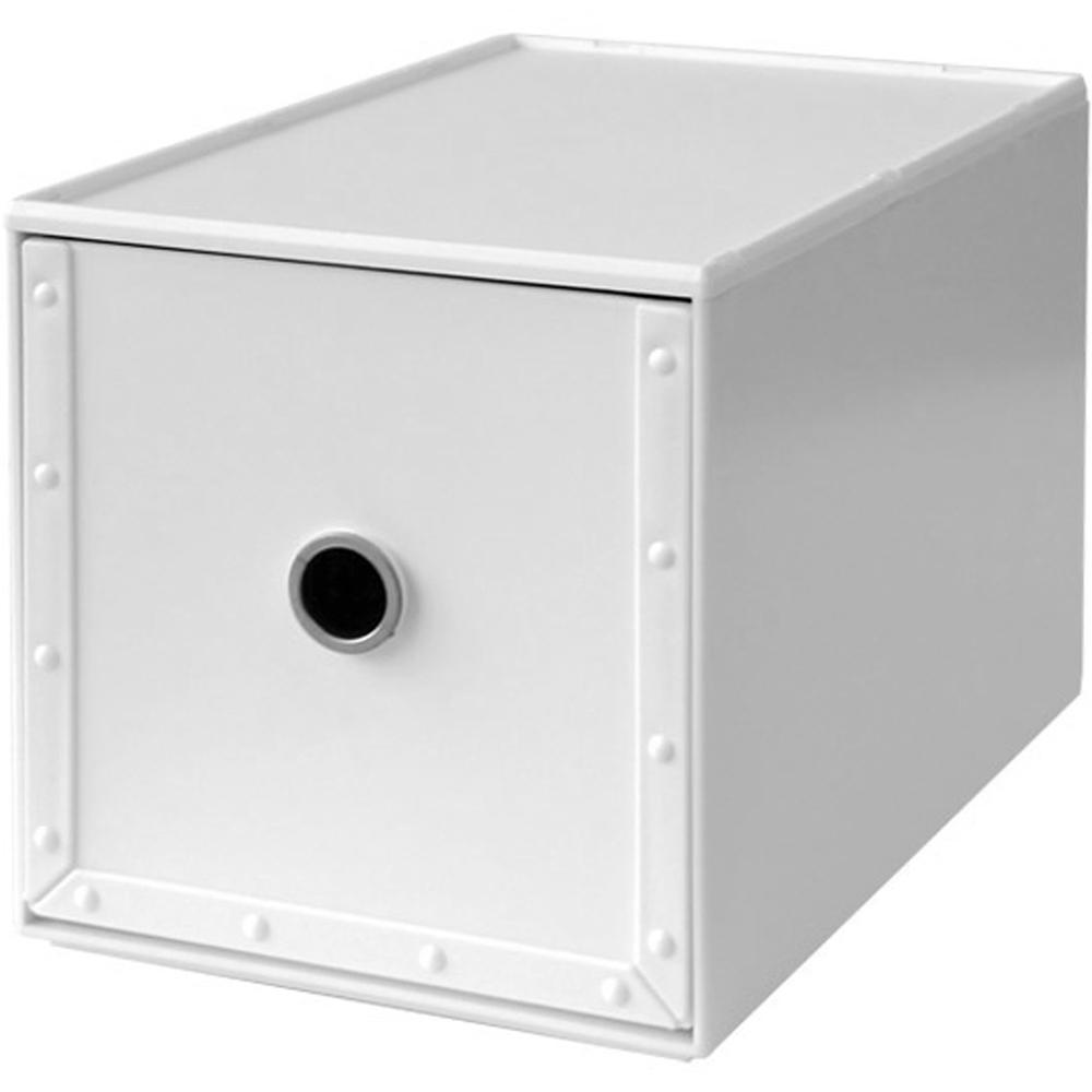 Waybe PP收納盒(白M)