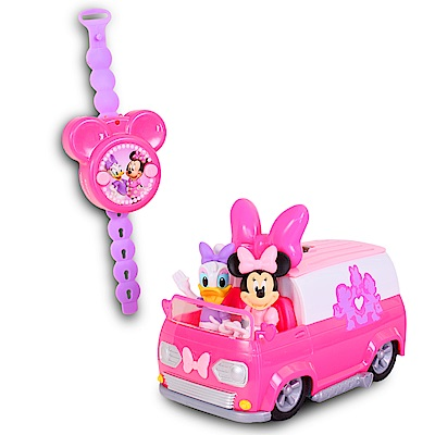 Disney 迪士尼 米妮快樂幫手遙控車