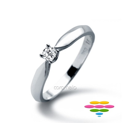 彩糖鑽工坊 9分鑽石戒指 四爪鑽戒   天真情人系列