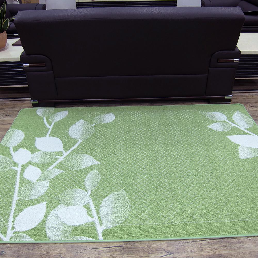 范登伯格 - 紛飛 日本進口地毯 - 綠 (中款-160x230cm)