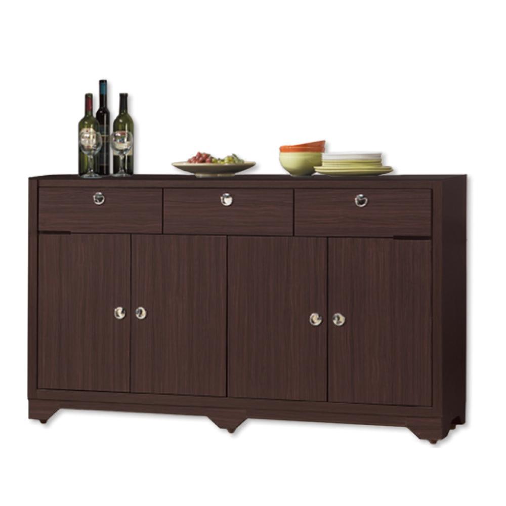 AS-溫斯敦5尺碗盤收納餐櫃-150x41x90cm