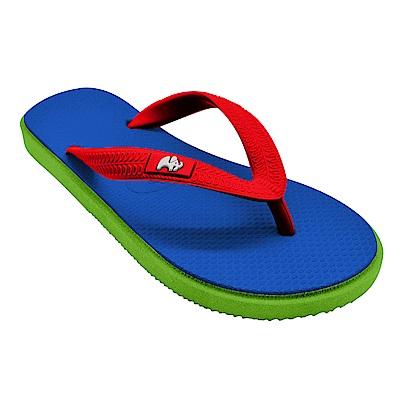 Fipper KIDS 天然橡膠拖鞋 BLUE-RED