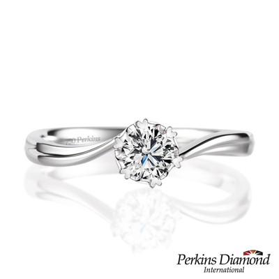 PERKINS 伯金仕 - Diana系列 0.20克拉鑽石戒指