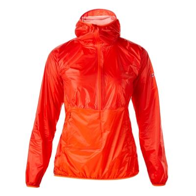 【Berghaus 貝豪斯】女款VAPOUR超輕薄防水半襟S15F20-紅
