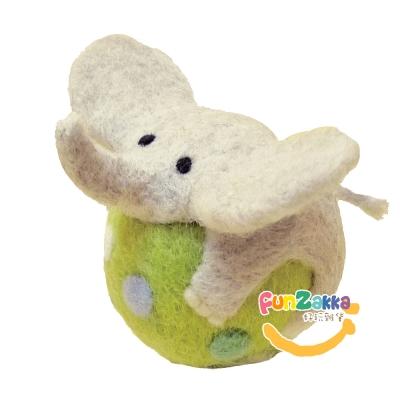 雙手牌小象球球羊毛氈材料包