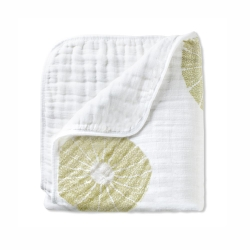 美國 aden+anais嬰幼兒有機棉被毯-綠洲系列AA9141