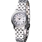 TISSOT T-Classic 典藏寶環機械女錶(T0452071111300)