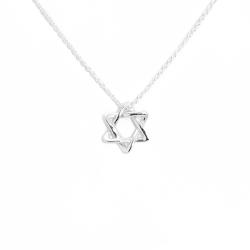 Tiffany&Co. 六芒星純銀項鍊