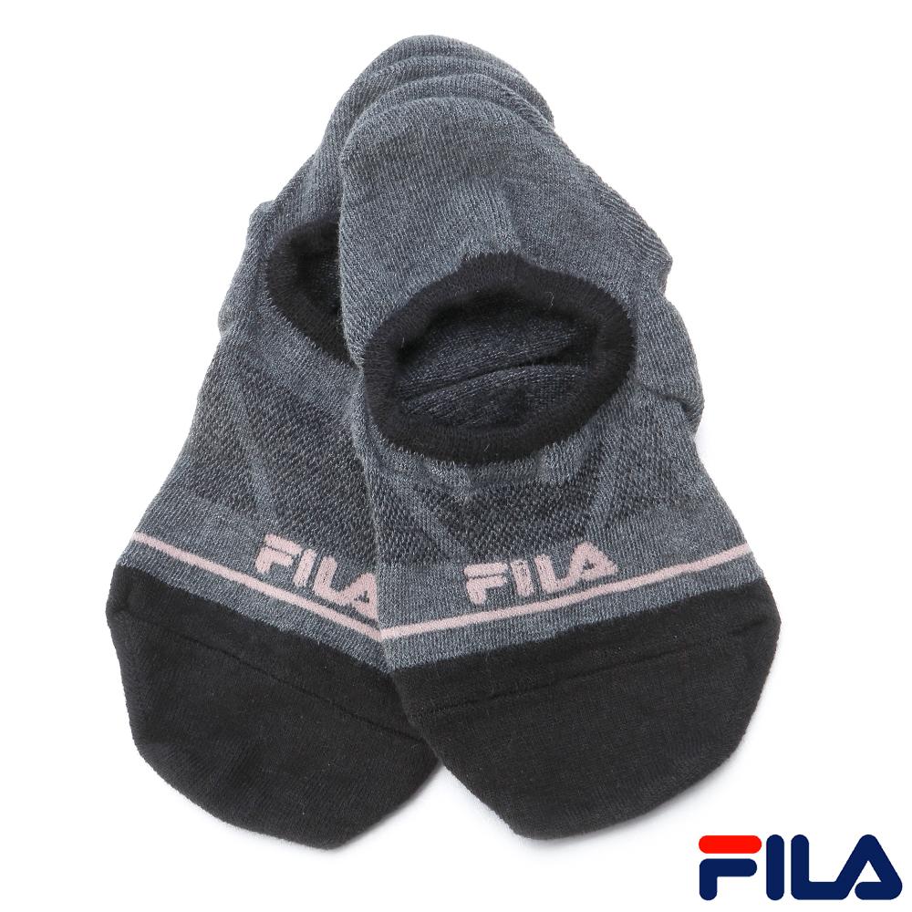 FILA休閒船型襪-深灰SCR-1300-RG
