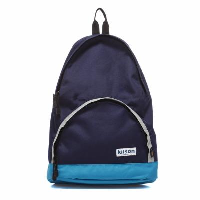 kitson Outdoor色塊拼接後背包-BLUE