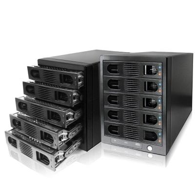 伽利略 USB3.0 + eSATA 1至5層 RAID 抽取式硬碟外接盒