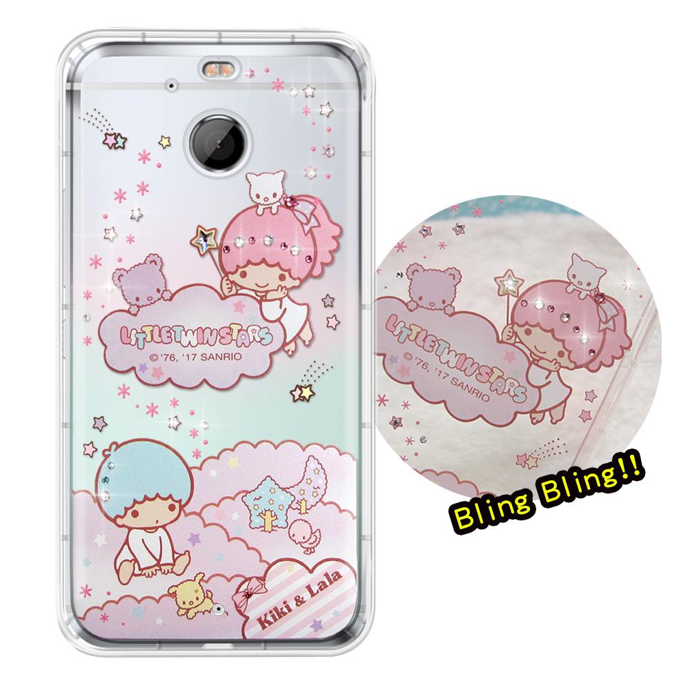 正版雙子星HTC 10 EVO 5.5吋夢幻童話彩鑽氣墊手機殼雙子雲朵