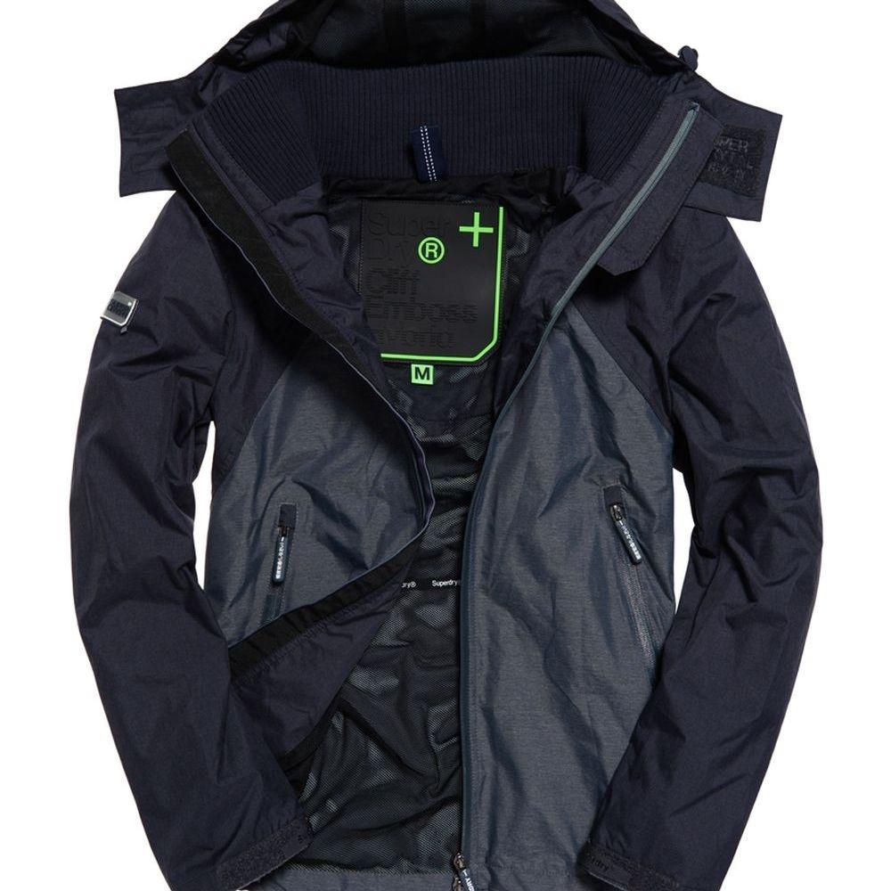 SUPERDRY 極度乾燥 風衣外套 藍色 392