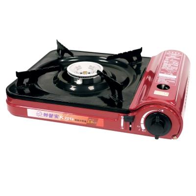 妙管家優質休閒瓦斯爐-附手提箱-K701R