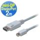 曜兆DIGITUS Mini DPt轉DisplayPort互轉線 *2公尺圓線(公-公) product thumbnail 1
