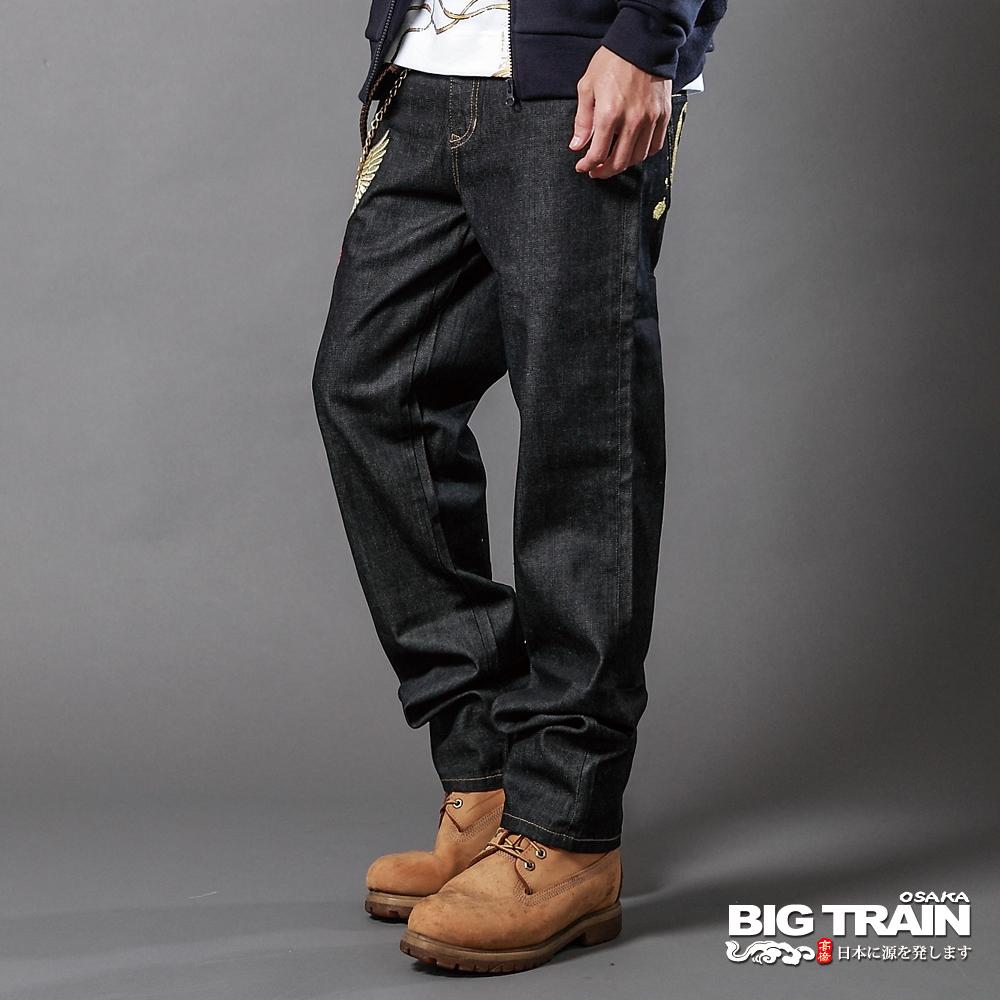 BIG TRAIN-日式潮人經典垮褲-固色