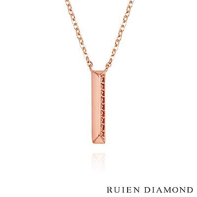 RUIEN DIAMOND 韓國輕珠寶 飾品 配件14K玫瑰金 項鍊 LN109