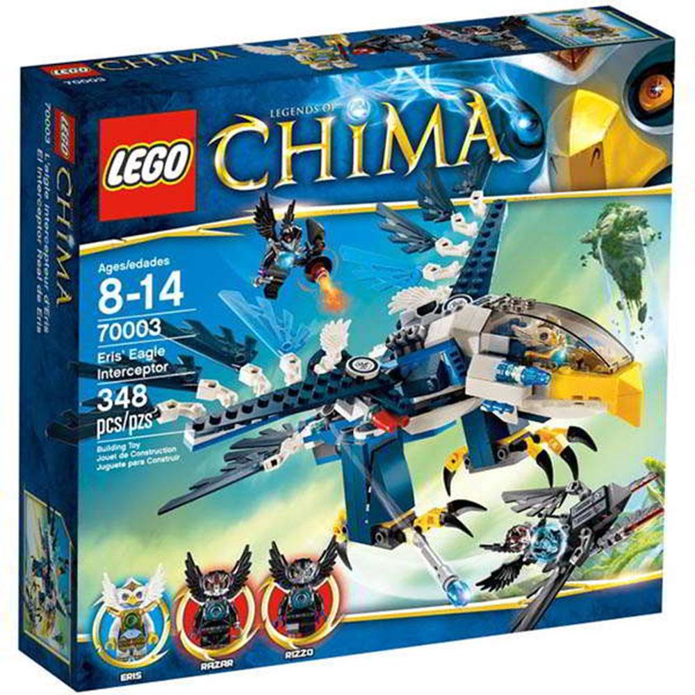 LEGO樂高 Chima系列70003 鷹傑斯Eris攔截機