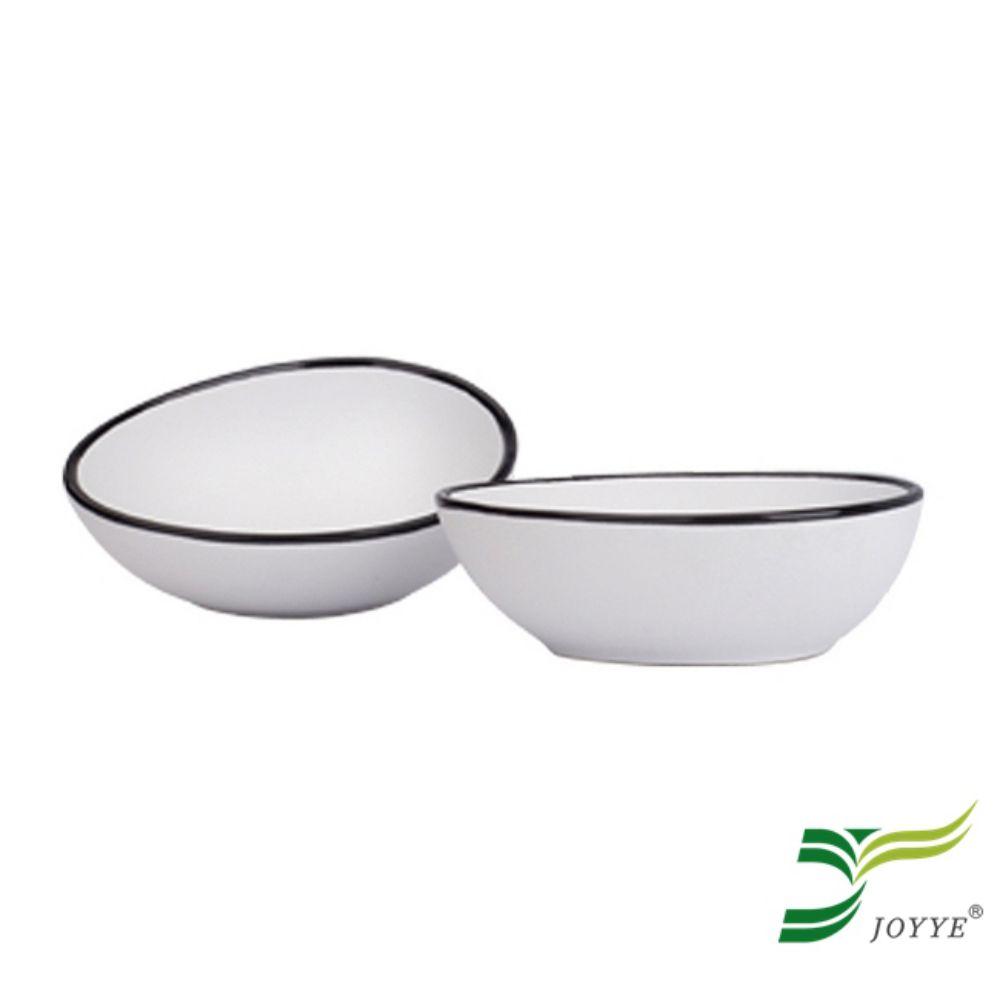 JOYYE陶瓷餐具 小鳥依偎蛋型調味碟(一套2件)
