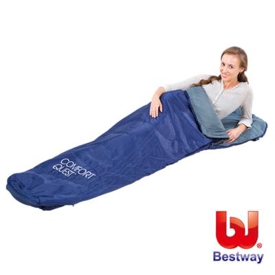 美國品牌【Bestway】87X30X20吋木乃伊型睡袋