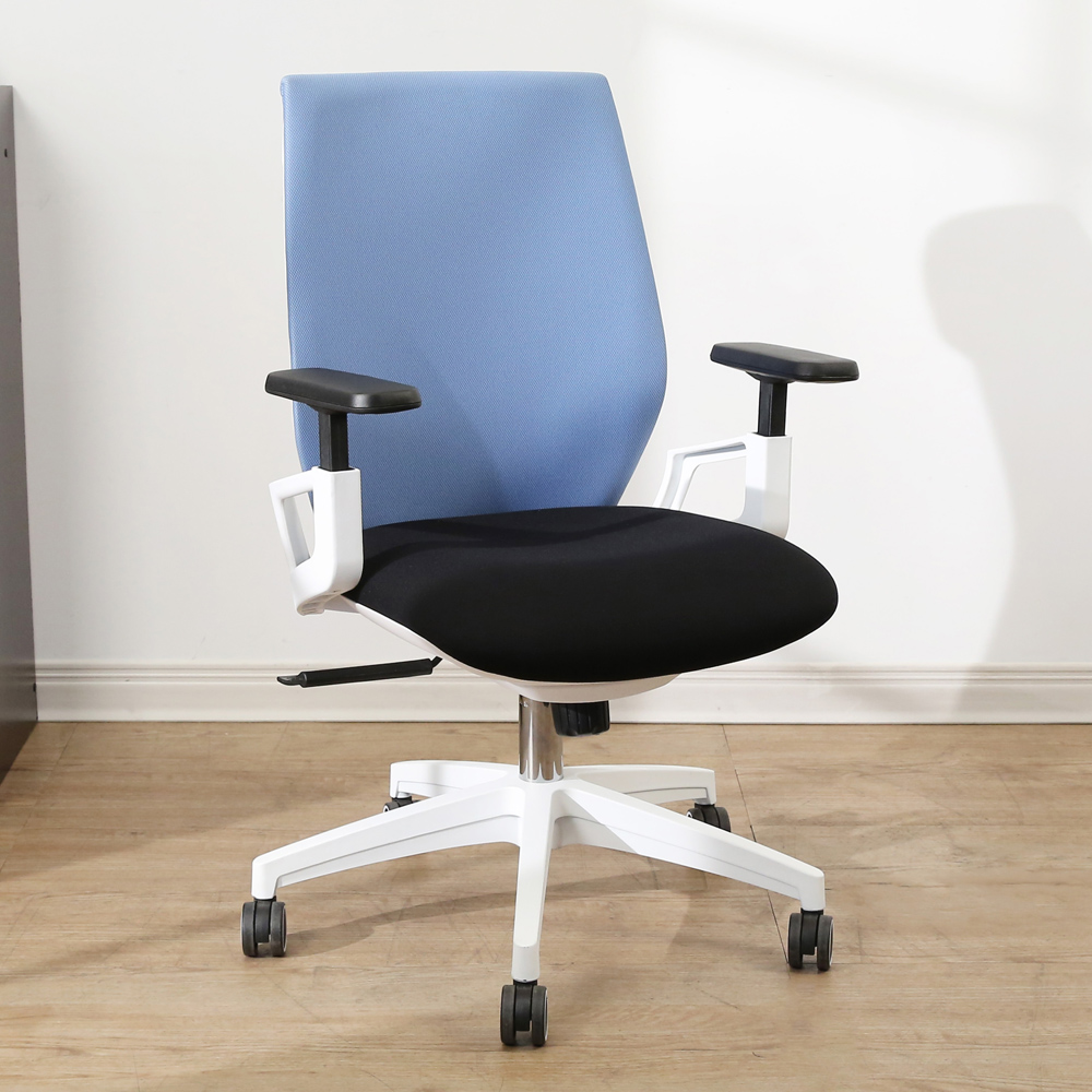 BuyJM奧斯丁塑鋼升降扶手加厚泡棉辦公椅/電腦椅寬53x103公分-DIY