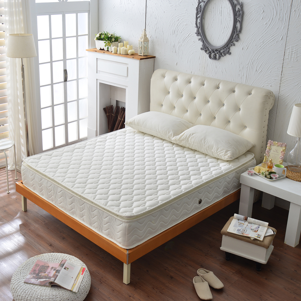 Ally愛麗正三線3M防潑水抗菌蜂巢式獨立筒床 雙人加大6尺