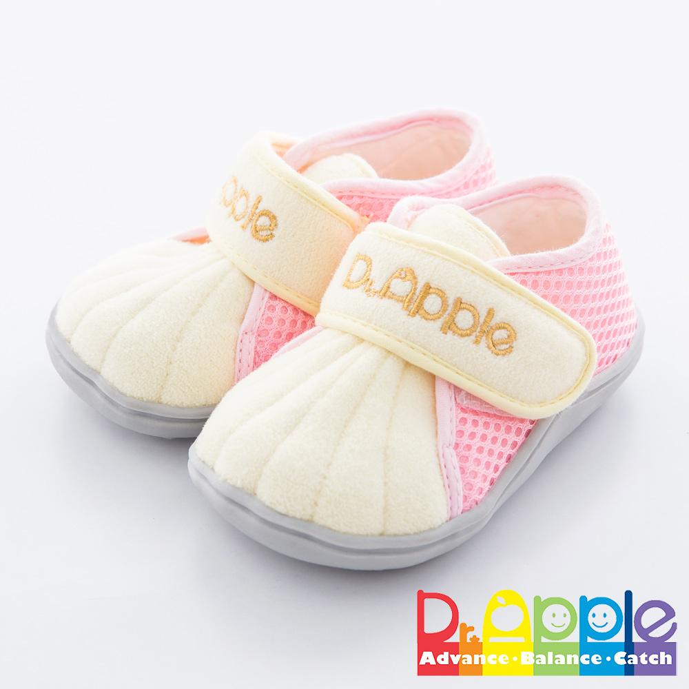 Dr. Apple 機能童鞋 跳色拼接經典小童款 粉