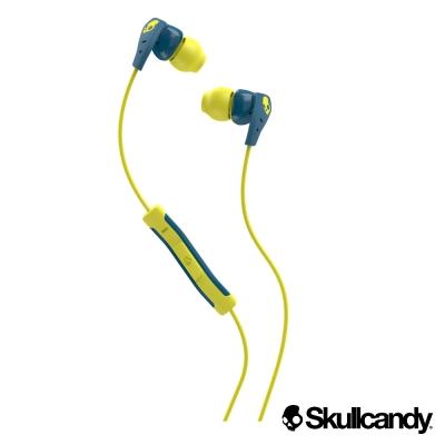 Skullcandy  運動型入耳式耳機-藍黃色(公司貨)METHOD 美色