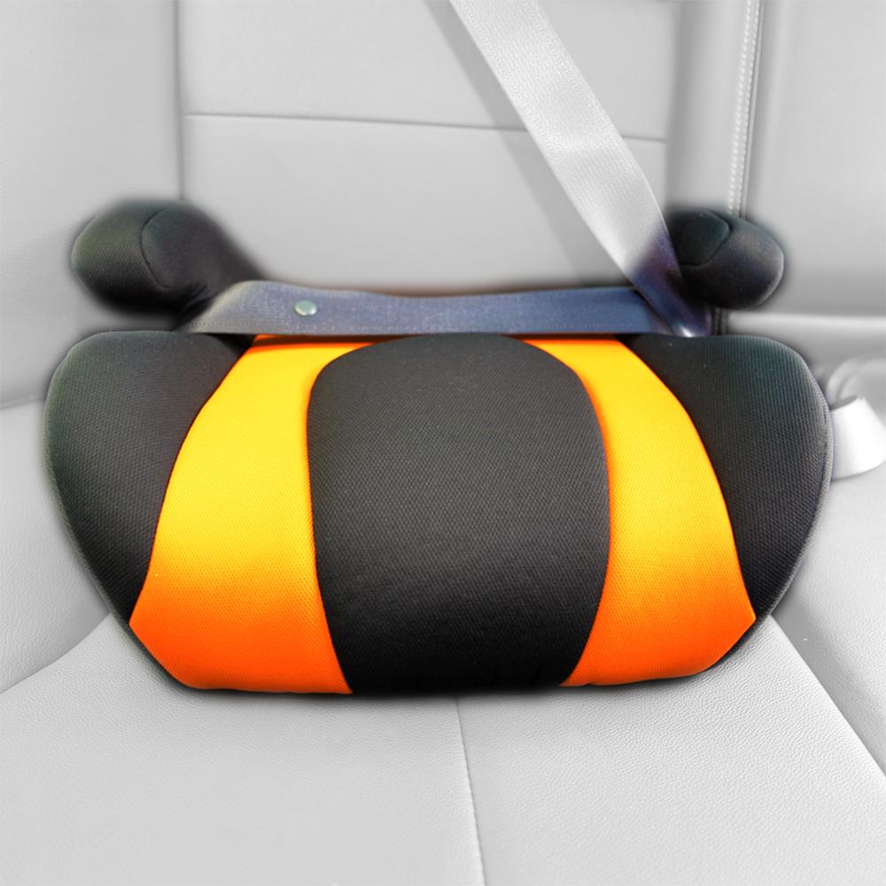 【OMyCar】小乖乖 兒童安全增高座墊(兩色可選)兒童汽車增高座墊 學童輔助座椅
