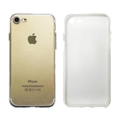 蘋果專用Apple iPhone 7 PU透明氣墊軟殼-送鋼化玻璃膜