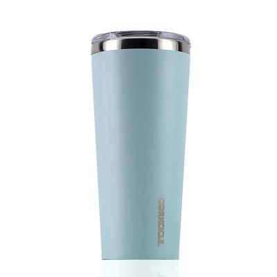 CORKCICLE 酷仕客Waterman戶外系列三層不鏽鋼寬口保溫杯-710ml (冰河藍)