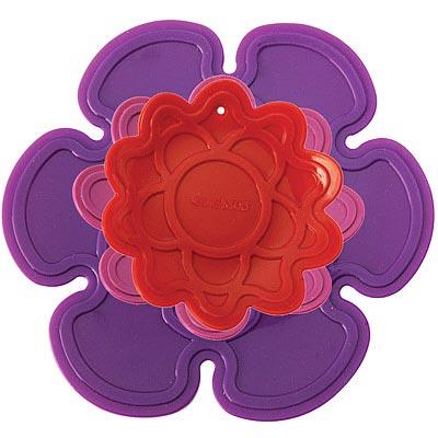 KitchenCraft 紫紅花隔熱墊3件