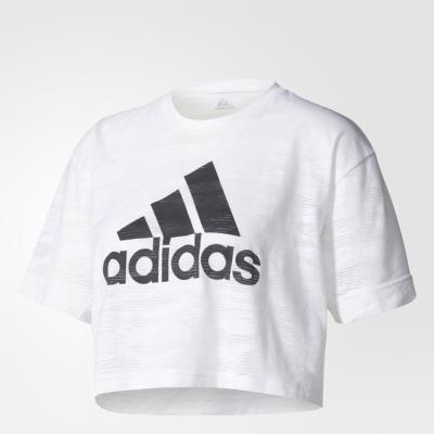 adidas WORKOUT 女 短袖上衣 BQ5788